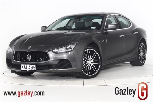 Motors Cars & Parts Cars : 2016 Maserati Ghibli NZ New, Luxury Italian Motoring, Low K's.