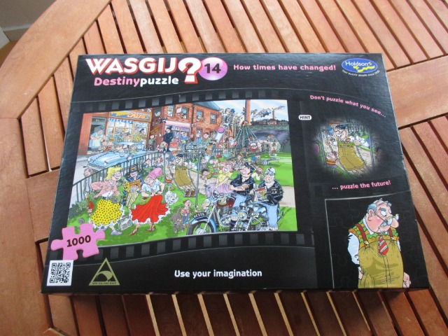 Baby & Toys Toys & Games Games & Puzzles : WASGIJ Destiny Puzzle, 1000 Piece Puzzle